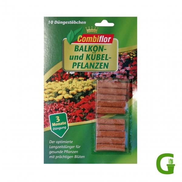 Combiflor Düngestäbchen für Balkon- und Kübelpflanzen, 10 St.