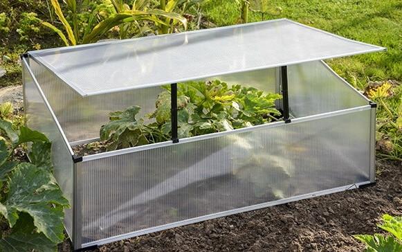 Up & Green Frühbeetkasten Aluminium 100 x 60 x 40 cm