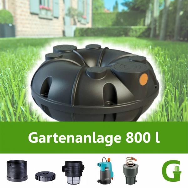 Rewatec Neo Gartenanlage 800 l Flachtank Flachspeicher