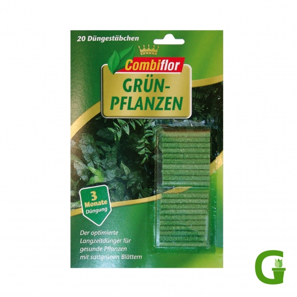 Combiflor Düngestäbchen für Grünpflanzen, 20 St.