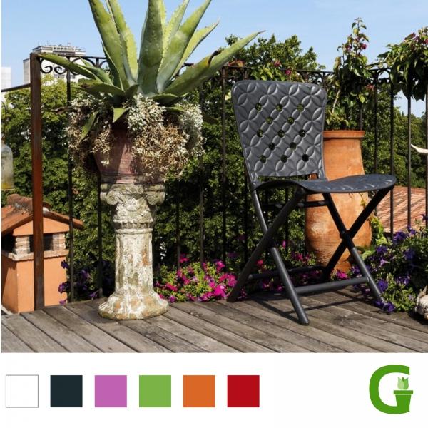 Nardi Zac Spring - Klappstuhl in verschiedenen Farben