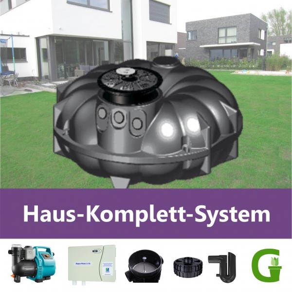 REWATEC AQUA-KING Haus-Komplett-System 1.500 - 10.000 l Flachtank FREI HAUS!