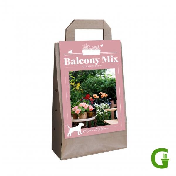 """Balcony Mix """"Saar-Mix"""" - 10 Blumenzwiebeln für Balkon und Blumenkübel"""