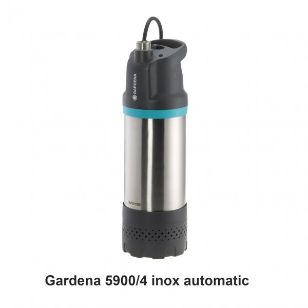 Gardena 5900/4 inox automatic Regenwasserpumpe