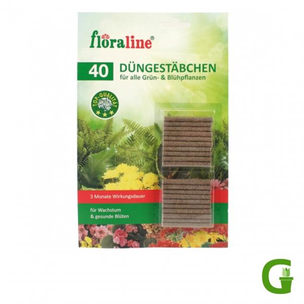 Düngestäbchen für Blüh- und Grünpflanzen, 40 Stück