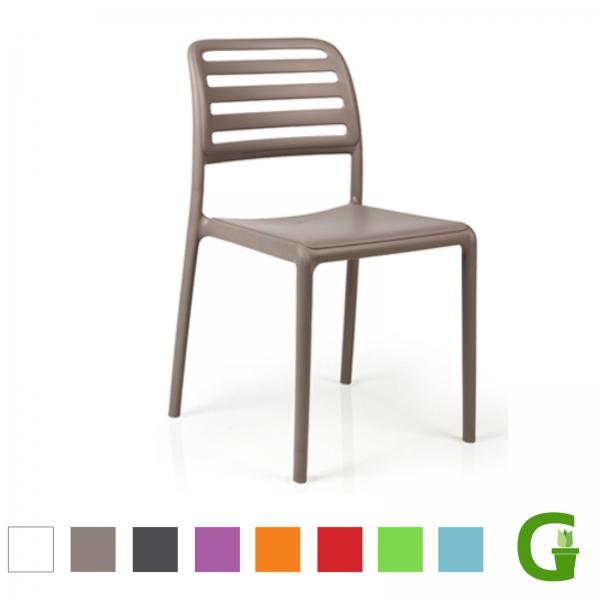 Nardi Costra Bistrot Stapelbarer Stuhl in vielen Farben