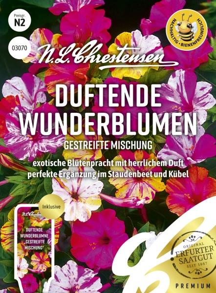 Duftende Wunderblume (Gestreifte Mischung)