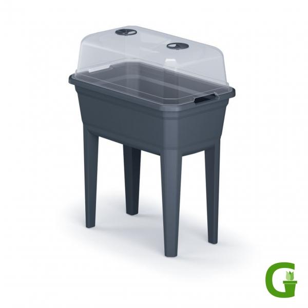 Up & Green Hochbeet XL Pflanztisch mit transparenter Haube