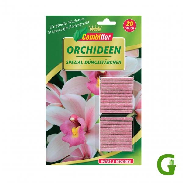 Combiflor Düngestäbchen für Orchideen, 20 St.