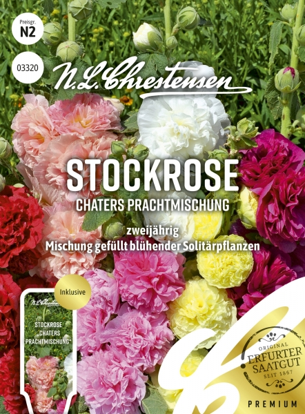 Stockrose Chaters Prachtmischung
