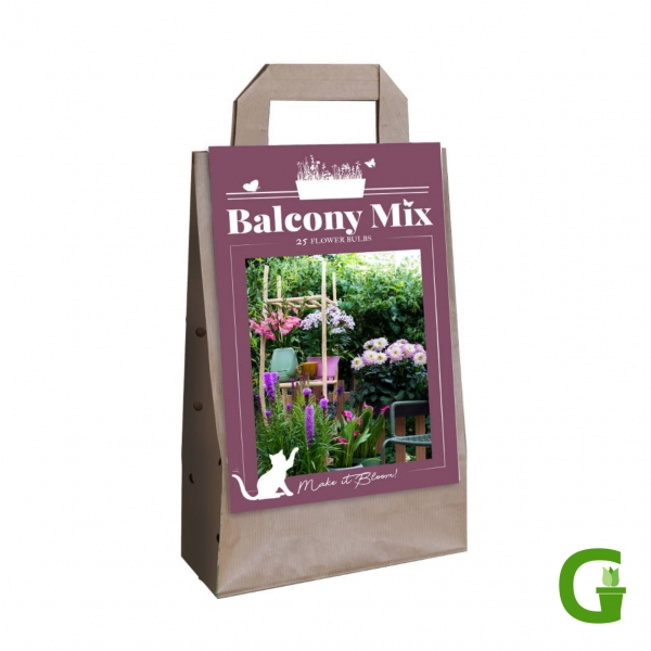 """Balcony Mix """"Kiek-Mix"""" - 15 Blumenzwiebeln für Balkon und Blumenkübel"""